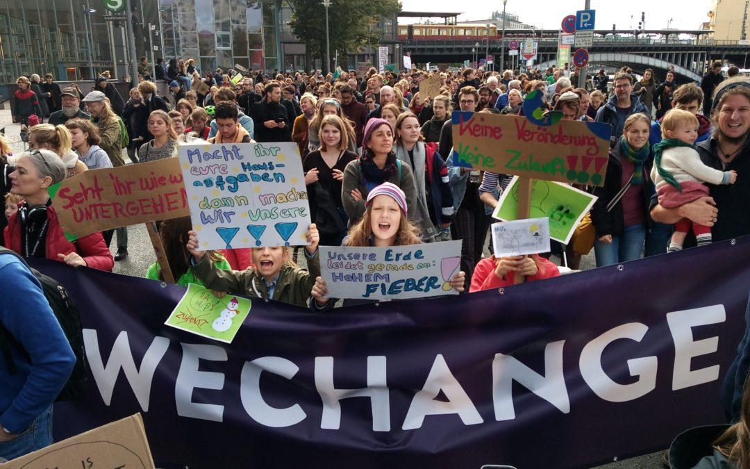 Zeichen setzen für eine lebenswerte Zukunft! – FFF meets Global Climate Strike