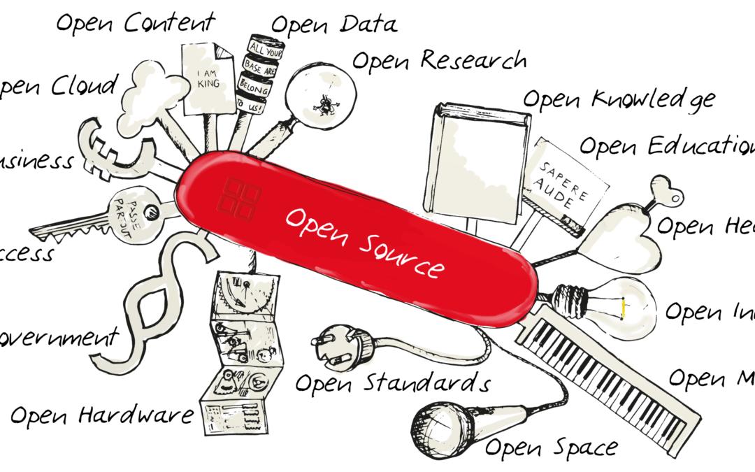10 systemrelevante quelloffene Open-Source Softwares, die der Staat unterstützen sollte.