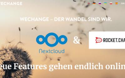 Nextcloud & RocketChat gehen am 26.08.2020 endlich online!