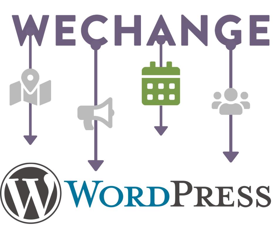 Übertragung des WECHANGE-Kalenders auf WordPress